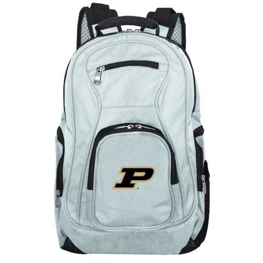CLPUL704-GRAY: NCAA Purdue Boilermakers Backpack Laptop
